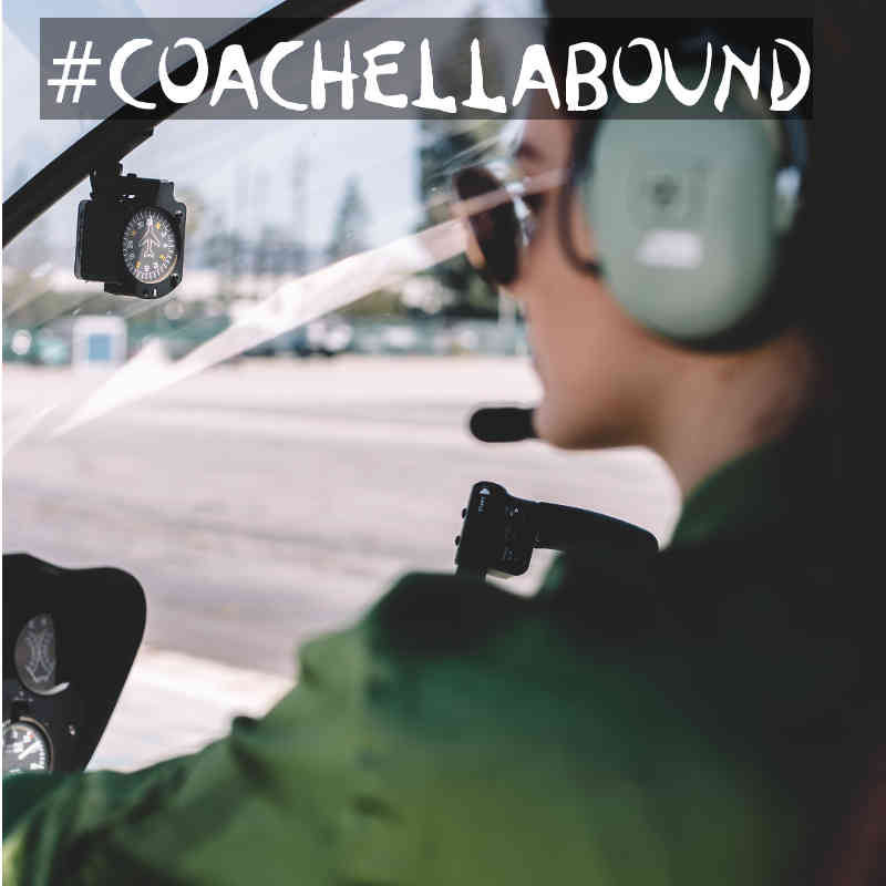 Airplane and Helicopter Rides to Coachella