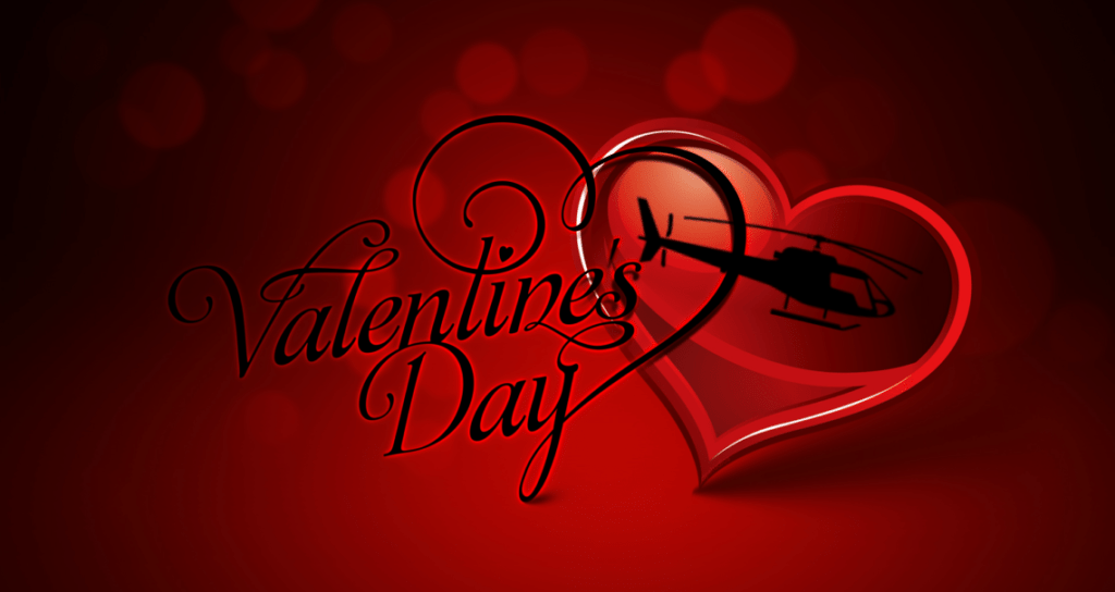 valentines day los angeles helicopter tours