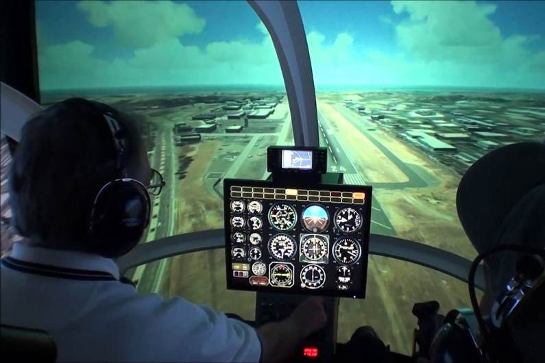 Cockpit - Lite Flight Helicopters