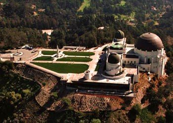 Griffith Observatory Los Angeles -Lite Flight Helicopters